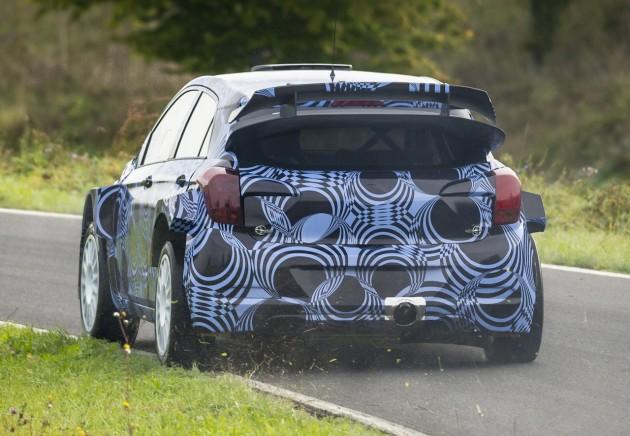 2015 Hyundai i20 WRC testing