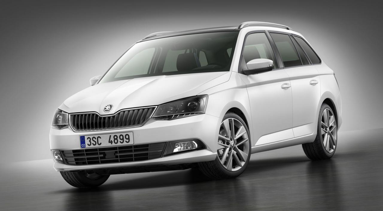 2015 skoda fabia combi wagon revealed performancedrive. Black Bedroom Furniture Sets. Home Design Ideas