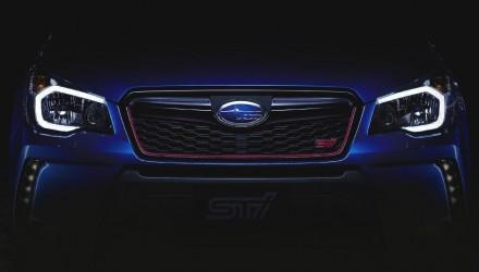 2015 Subaru Forester STI preview