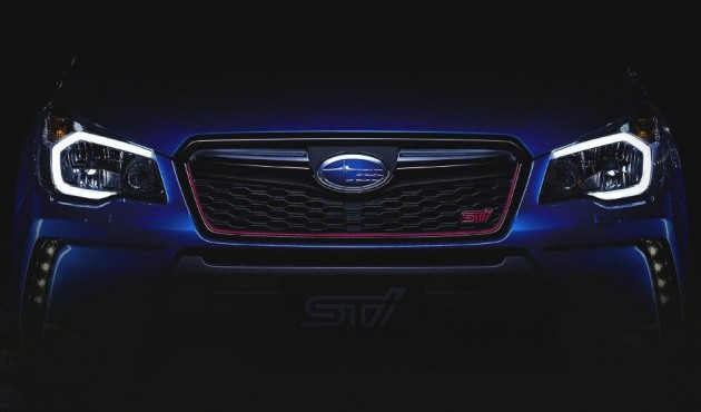 2015 Subaru Forester STI preview