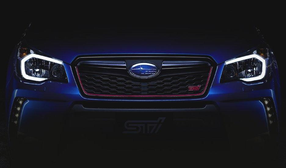 Subaru Forester STI previewed, new performance SUV | PerformanceDrive