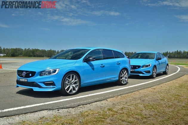 2015 Volvo S60 and V60 Polestar-Norwell Park