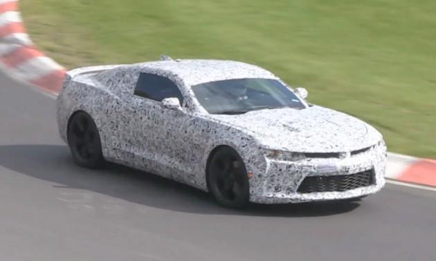 2016 Chevrolet Camaro prototype
