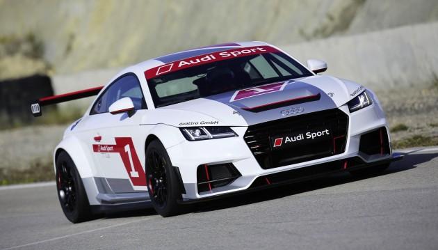 Audi Sport TT Cup car