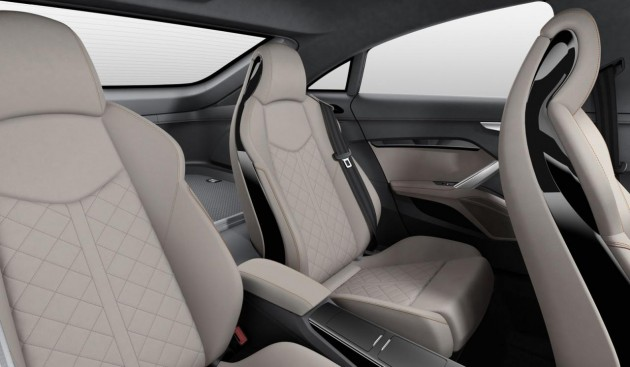 Audi TT Sportback concept rear seats