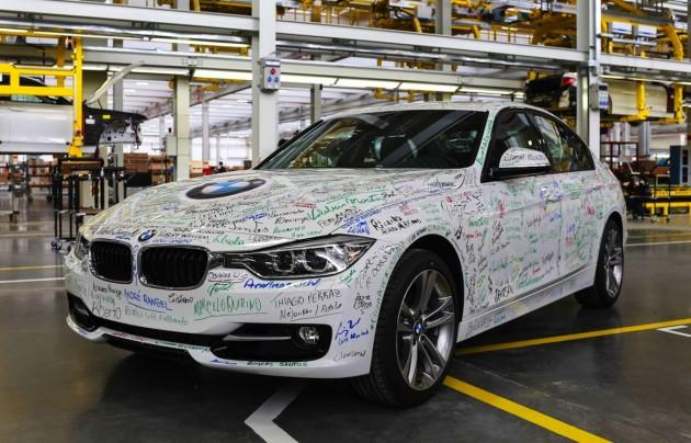 BMW 3 Series Araquari Brazil plant
