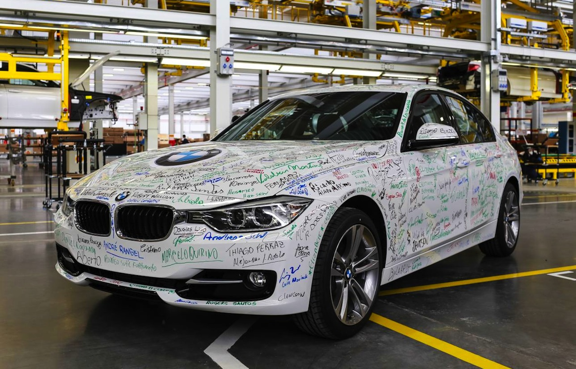 BMW adds South American plant, first car produced   PerformanceDrive