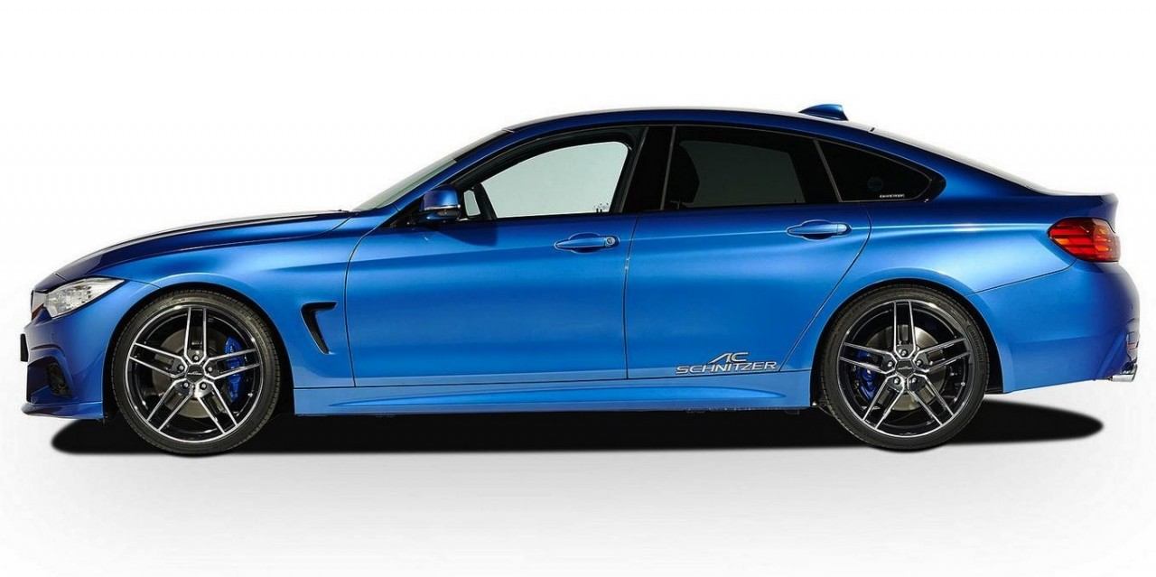 ac schnitzer reveals upgrades for bmw 4 series gran coupe performancedrive. Black Bedroom Furniture Sets. Home Design Ideas
