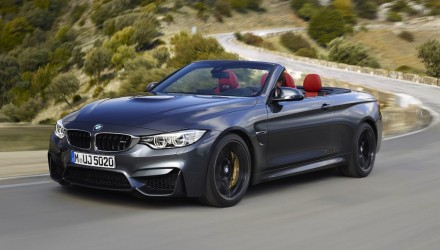 BMW M4 Convertible-grey