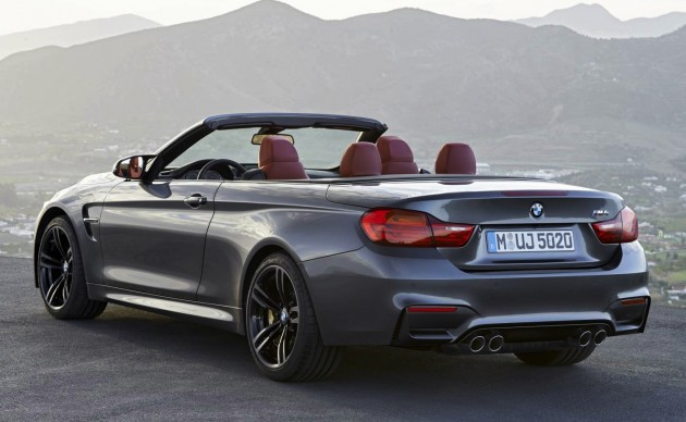 BMW M4 Convertible-rear