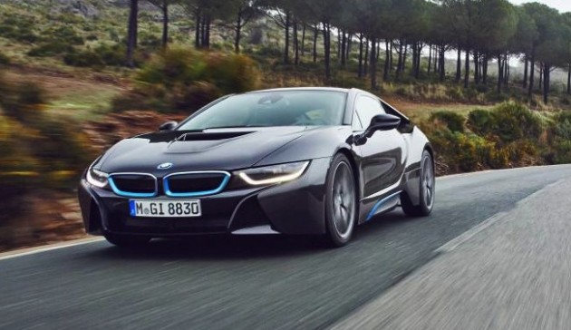 BMW i8 production car