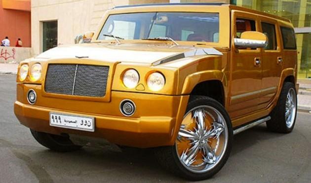 Hummer gold