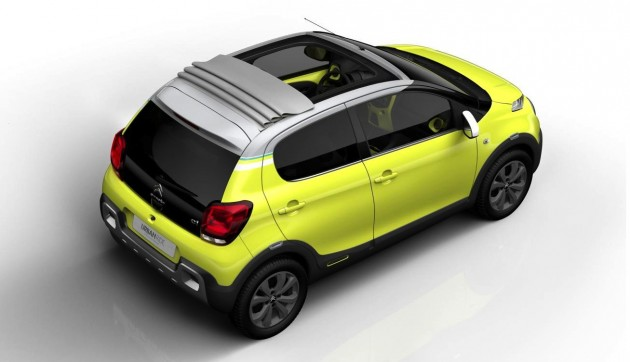 Citroen C1 Urban Ride concept roof