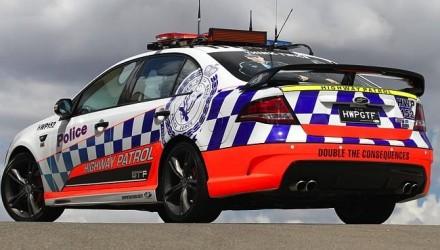 FPV GT F NSW police car