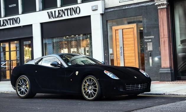 Ferrari 599 velvet wrap