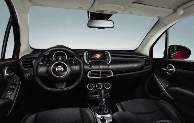 Fiat 500X cabin