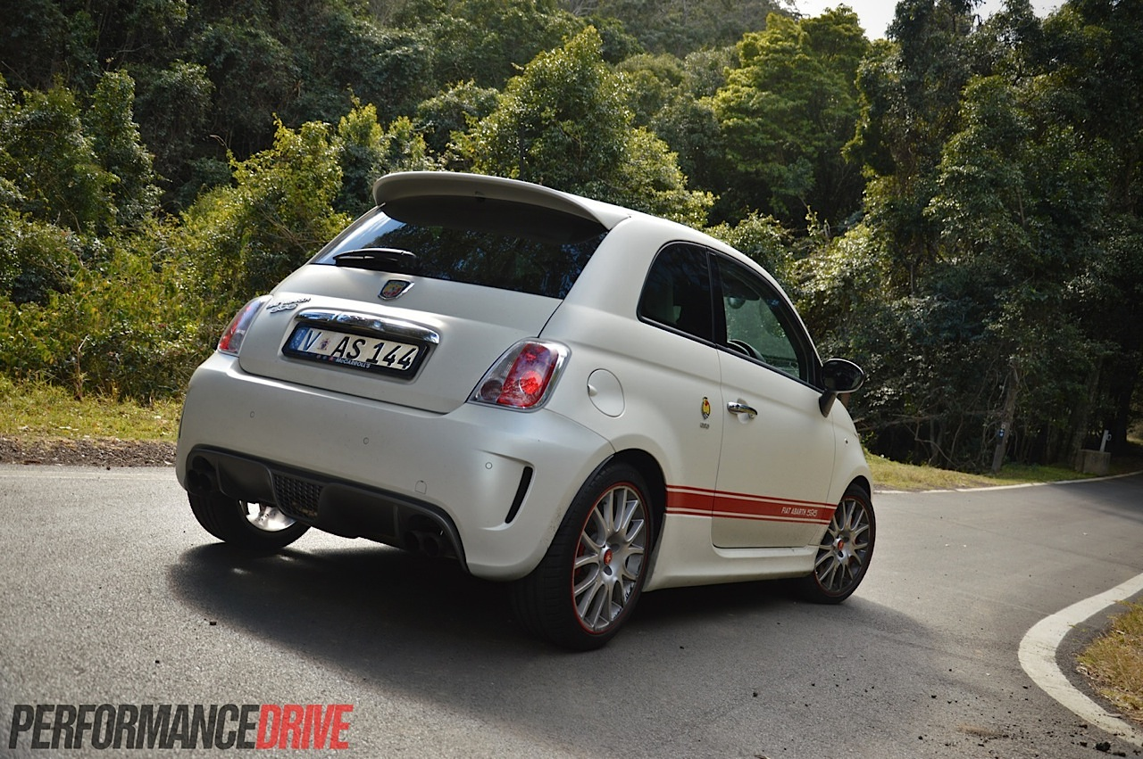 abarth 595 50th anniversary edition review video performancedrive. Black Bedroom Furniture Sets. Home Design Ideas
