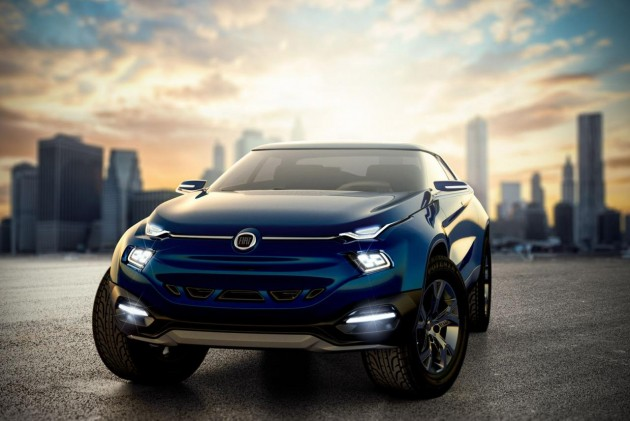 Fiat FCC4 concept-headlights
