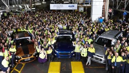 Ford Broadmeadows Plant 1 Falcon FG X