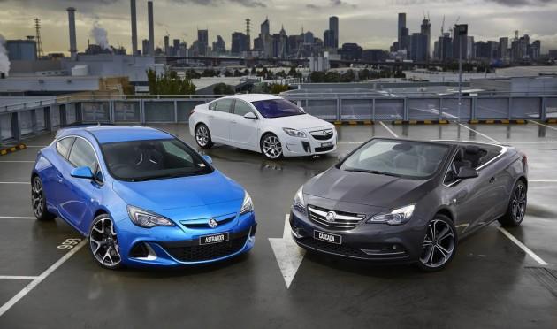 Holden Opel lineup