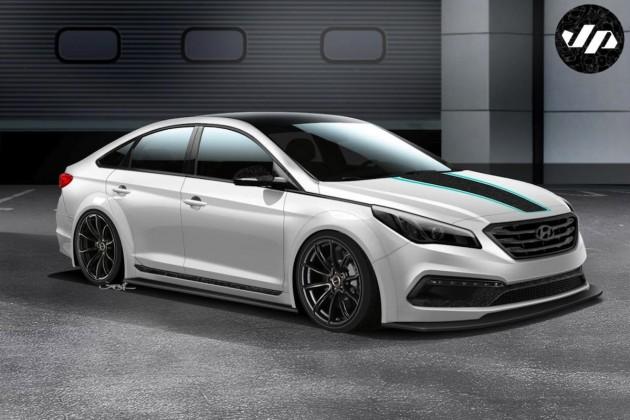 Hyundai JP Edition Sonata SEMA