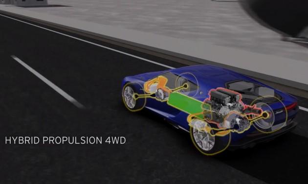 Lamborghini Asterion demo