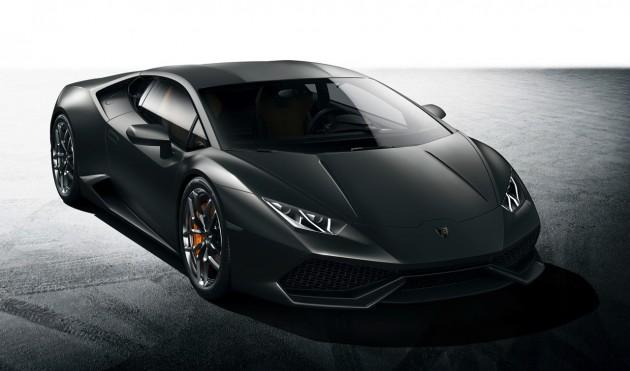 Lamborghini Huracan-black