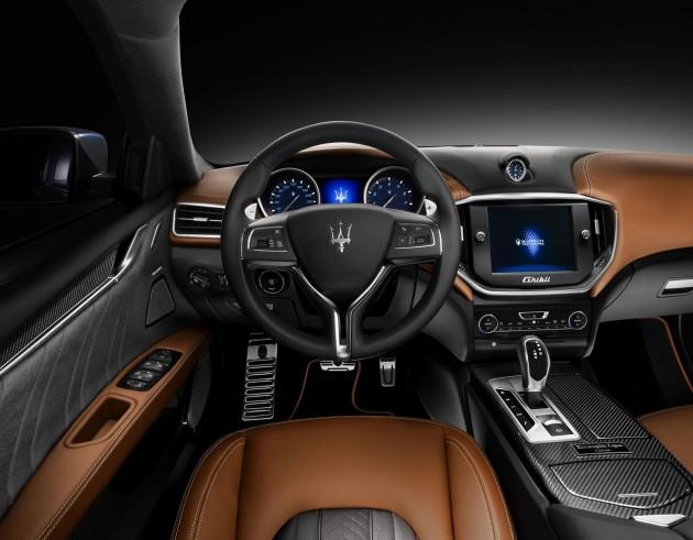 Maserati Ghibli Ermenegildo Zegna Edition-interior