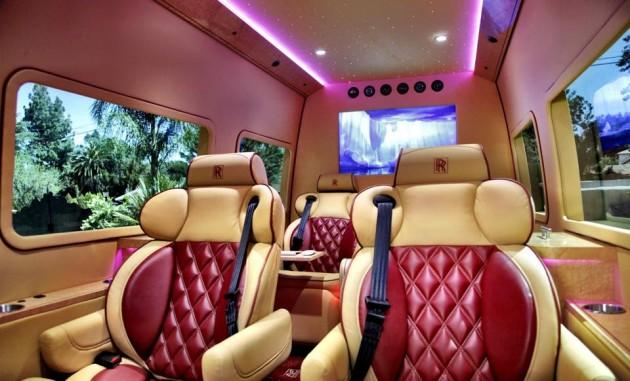 Mercedes-Benz Rolls-Royce Ghost Sprinter starlight roof