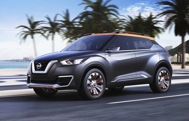 Nissan Kicks concept-design