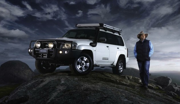 Nissan Patrol Titanium edition-Pat Callinan