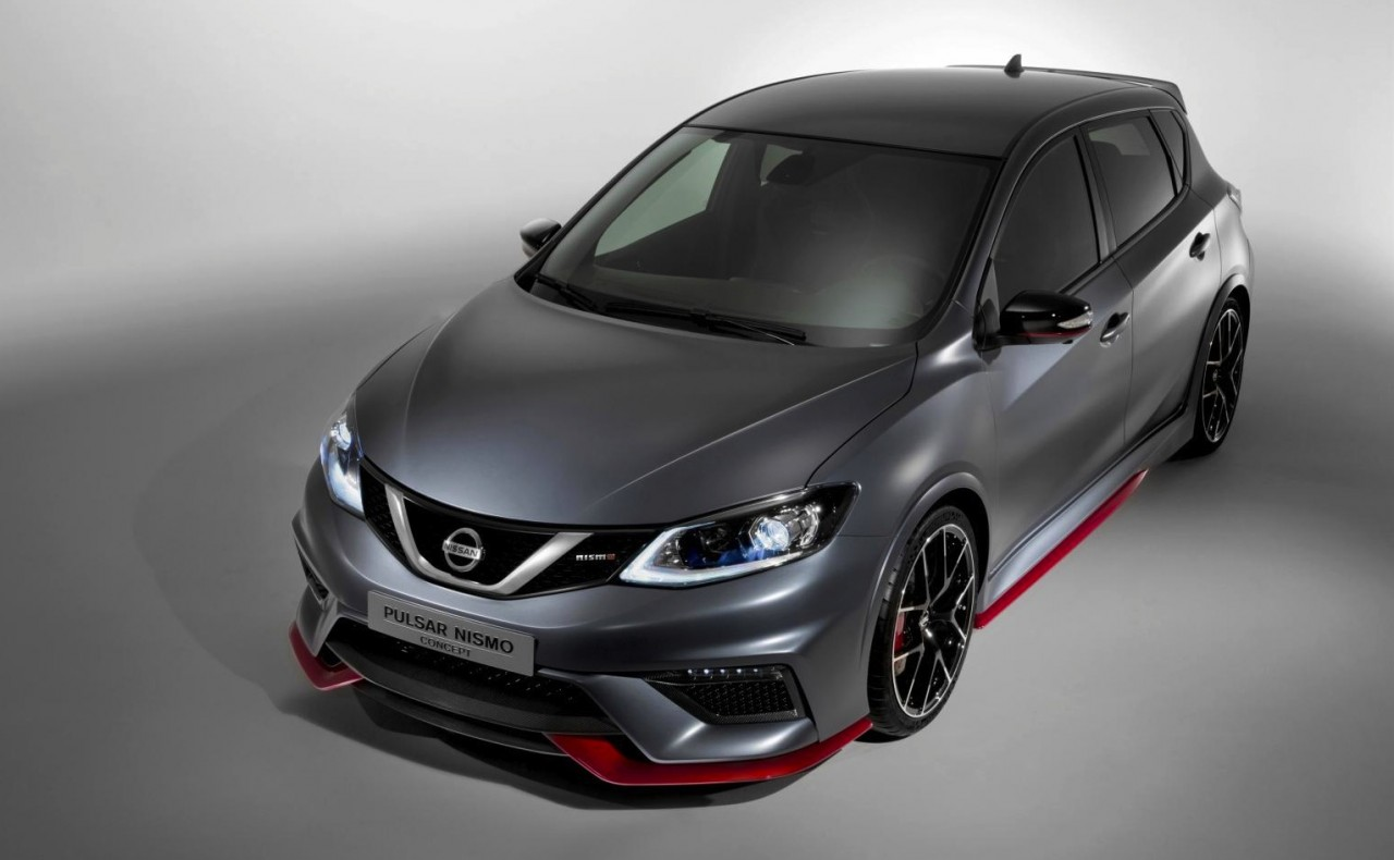 nissan pulsar nismo concept revealed at paris motor show performancedrive. Black Bedroom Furniture Sets. Home Design Ideas