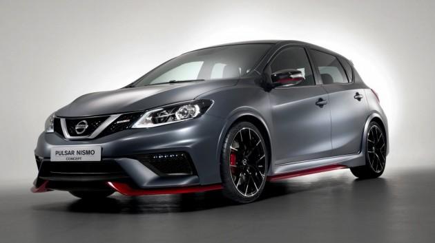 Nissan Pulsar Nismo concept-grey