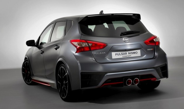 Nissan Pulsar Nismo concept-rear
