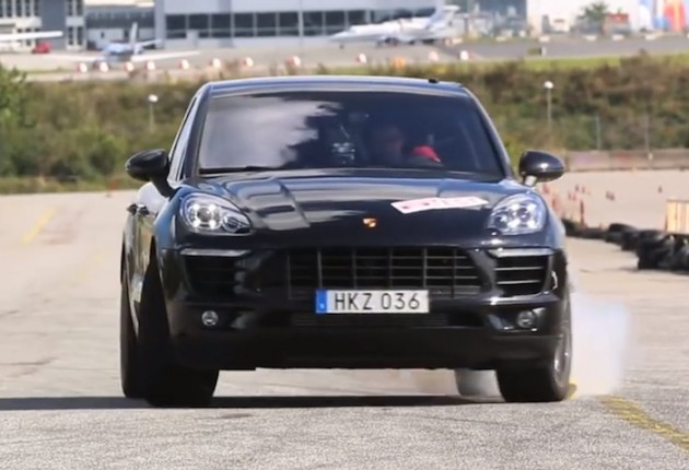 Porsche Macan S Diesel moose test