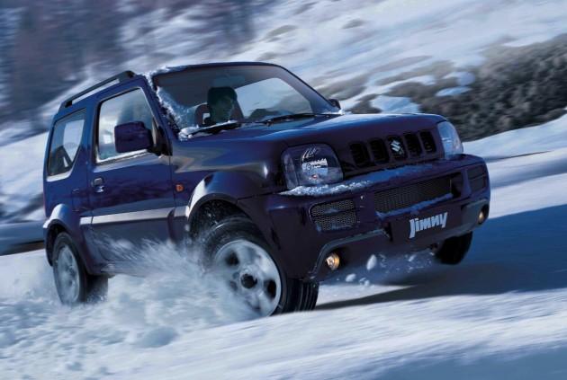Suzuki Jimny snow