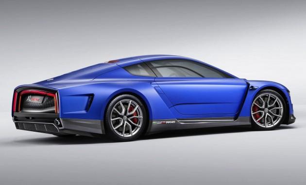 Volkswagen XL Sport concept-rear