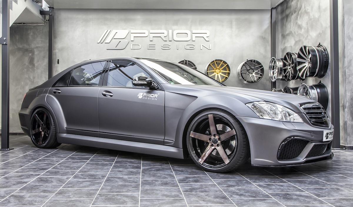 Prior Design Develops Widebody Kit For W221 Mercedes S