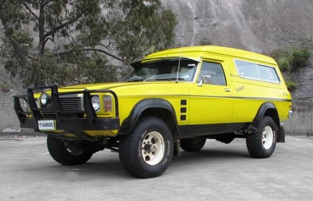 1976 Holden HJ Overlander Sandman 4x4