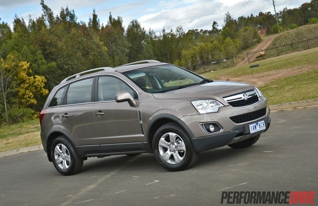 2014 Holden Captiva 5 LT-Sandy Beach