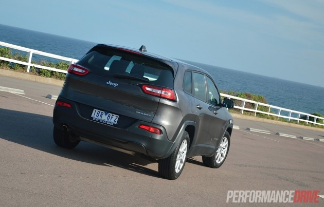 2014 Jeep Cherokee Sport-rear