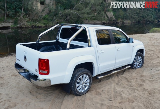 2014 Volkswagen Amarok Highline TDI420 sports bar