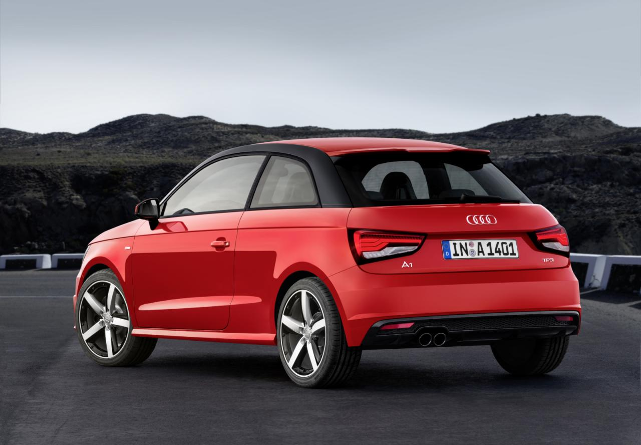 2015 audi a1 a1 sportback revealed new 3 cyl engines performancedrive. Black Bedroom Furniture Sets. Home Design Ideas