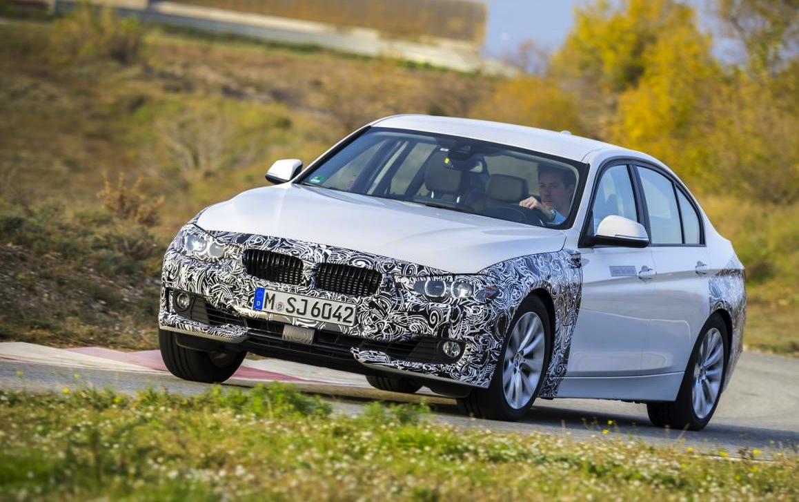 bmw 3 series plug in hybrid prototype previews future powertrain performancedrive. Black Bedroom Furniture Sets. Home Design Ideas