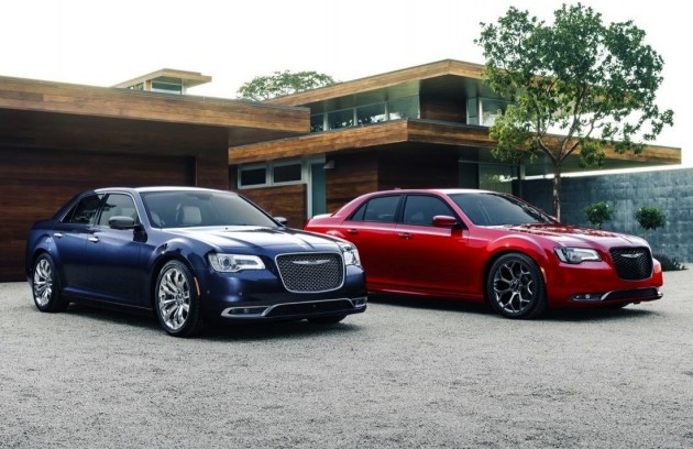 2015 Chrysler 300 and 300S