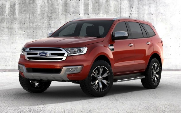 2015 Ford Everest design