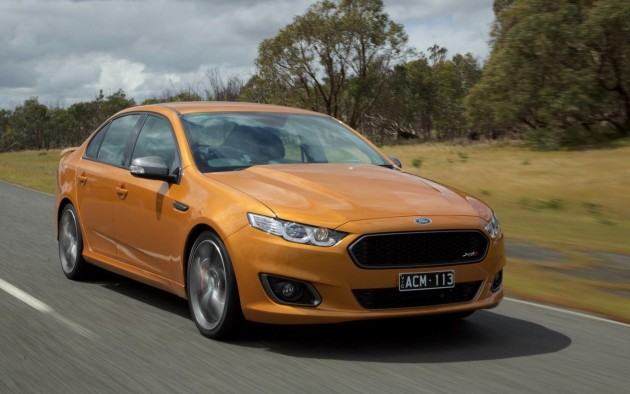 2015 Ford Falcon FG X XR8-front