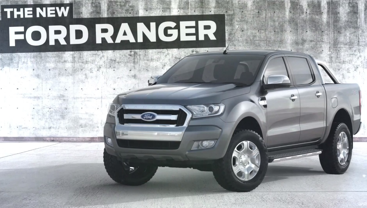 new look 2015 ford ranger revealed in teaser video performancedrive. Black Bedroom Furniture Sets. Home Design Ideas