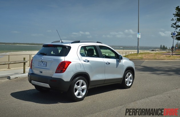 2015 Holden Trax LTZ-beach
