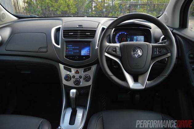 2015 Holden Trax LTZ-dash